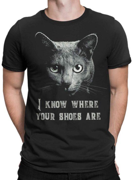 0026 Cat Shirts Threat Front Man