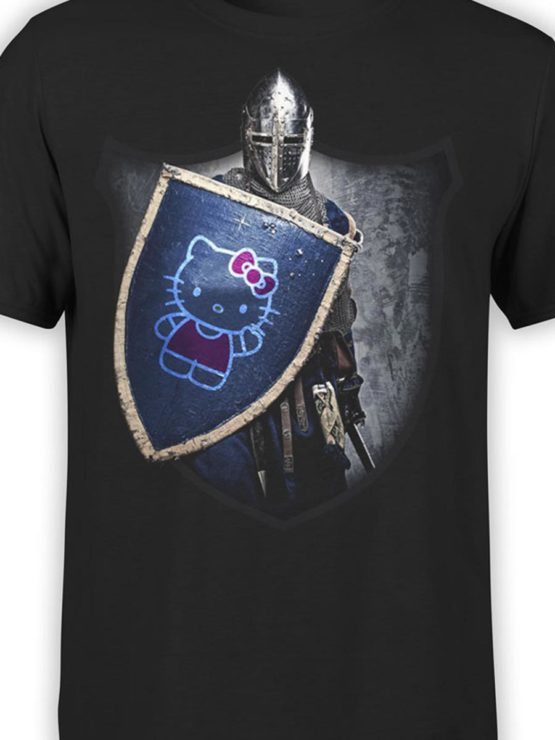 0029 Cat Shirts Knight Kitty Front Color