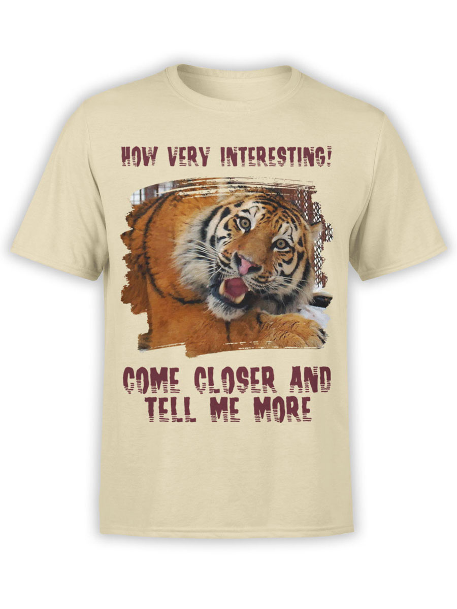 0081 Tiger Shirt Very Interecting Front