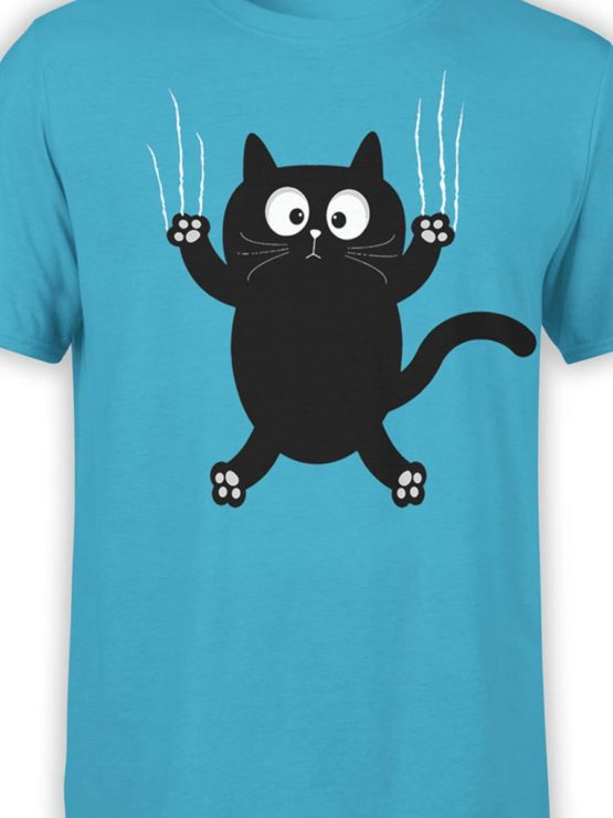 0163 Cat Shirts On The Wall Front Color