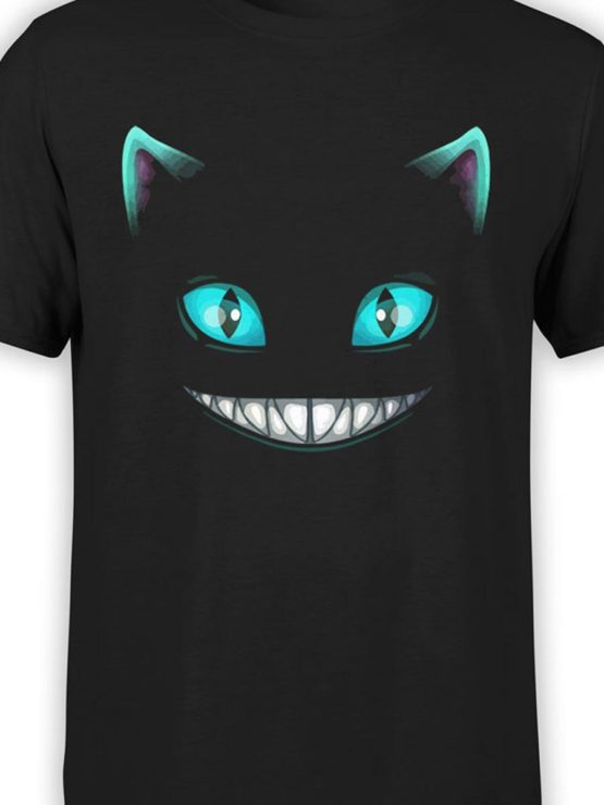 0165 Cat Shirts Smile Front Color