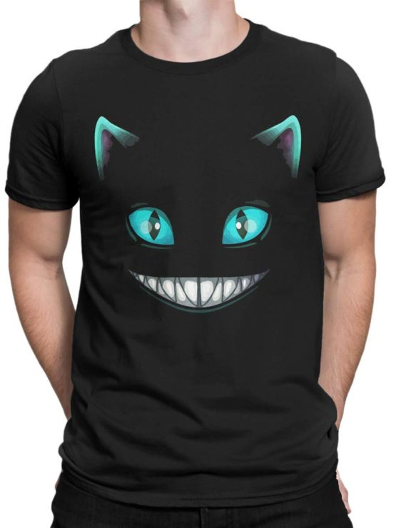 0165 Cat Shirts Smile Front Man