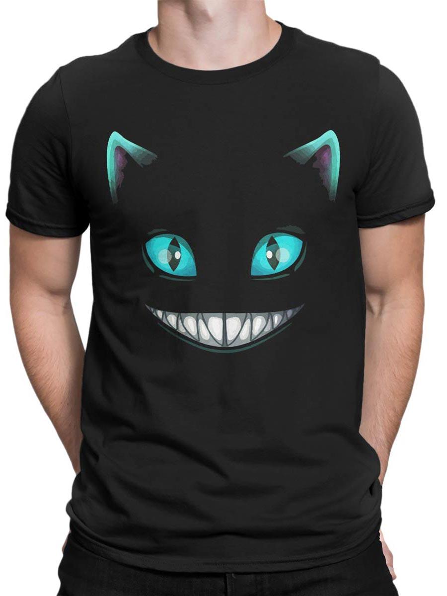 0165 Cat Shirts Smile Front Man