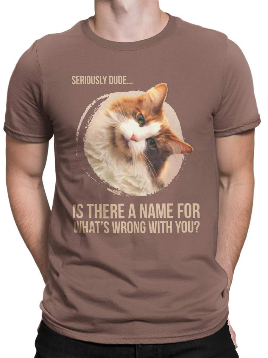 0178 Cat Shirts Seriously Front Man