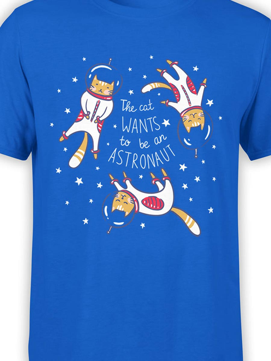 0182 Cat Shirts Astrocats Front Color