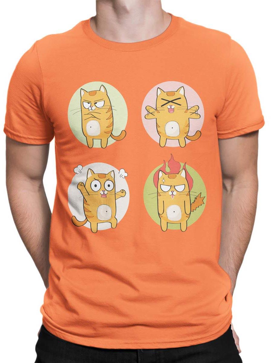 0188 Cat Shirts Emotional Front Man