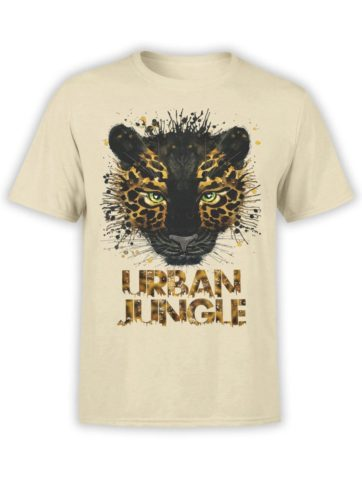 0268 Cat Shirts Jaguar Front Natural