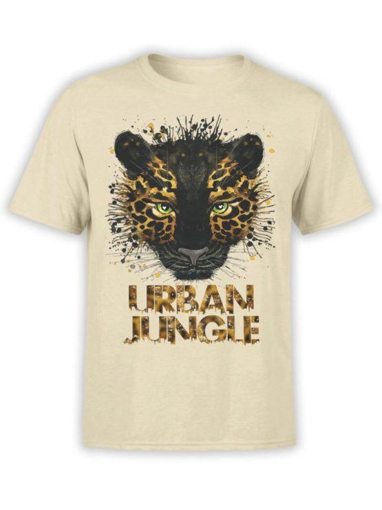 0268 Cat Shirts Jaguar Front Natural