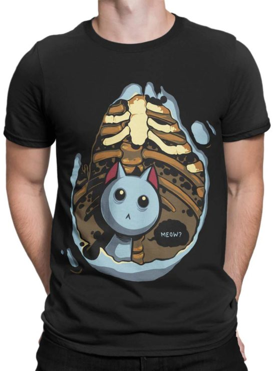 0289 Cat Shirts Kitten Inside Front Man