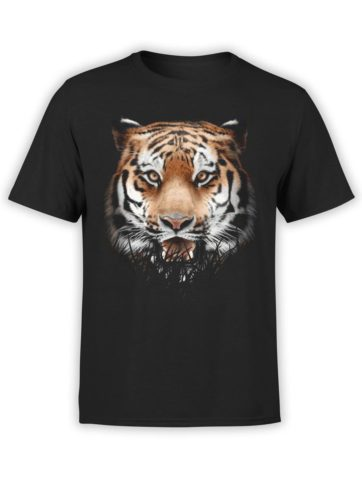 0302 Tiger T Shirt Ambush Front Black