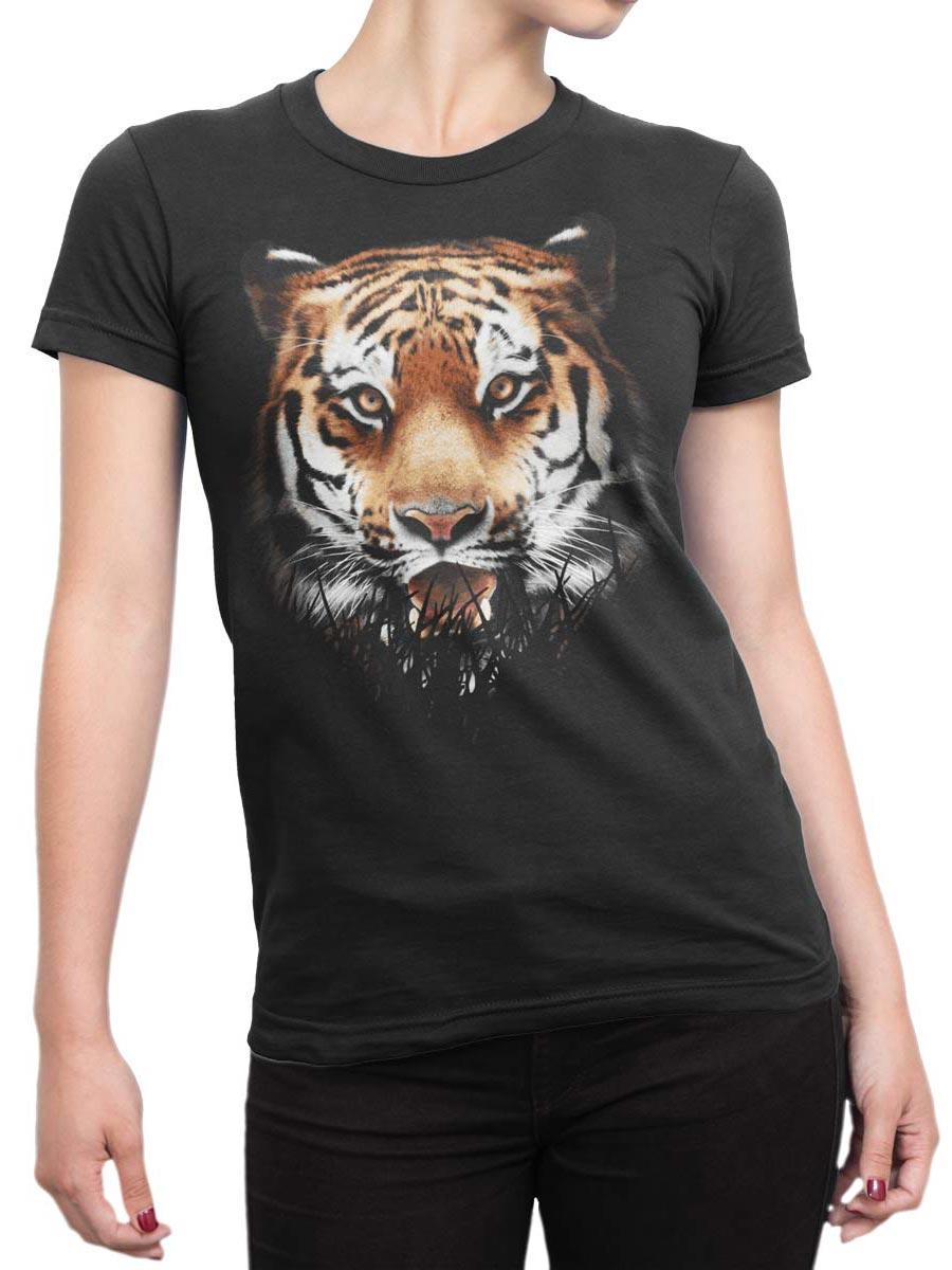 0302 Tiger T Shirt Ambush Front Woman