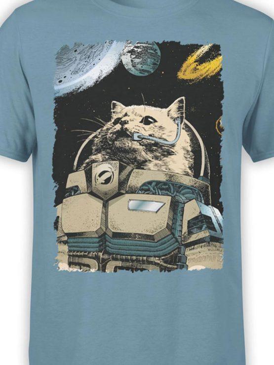 0305 Cat Shirts Cosmocat Front Color
