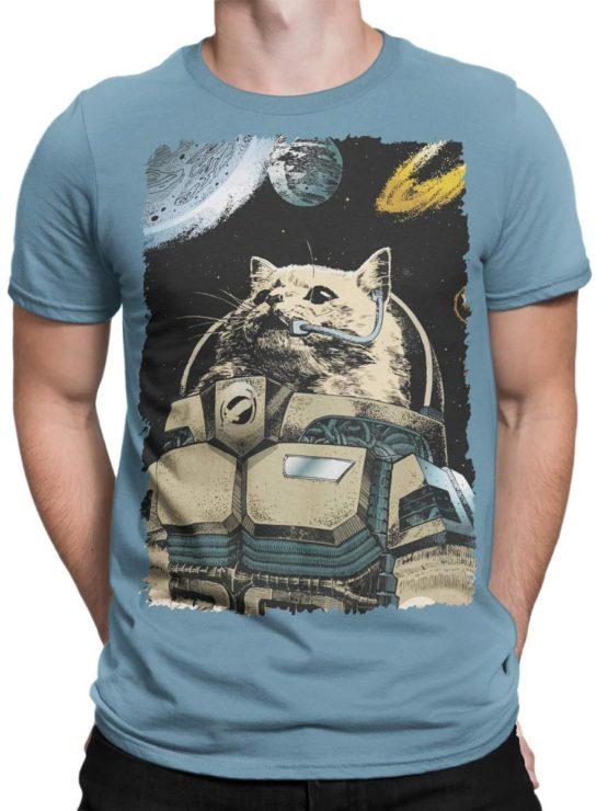 0305 Cat Shirts Cosmocat Front Man
