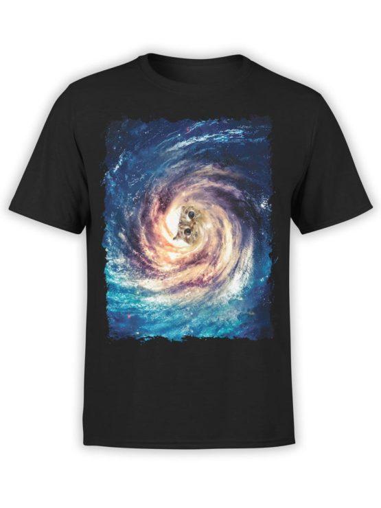 0337 Cat Shirts Creator Front Black