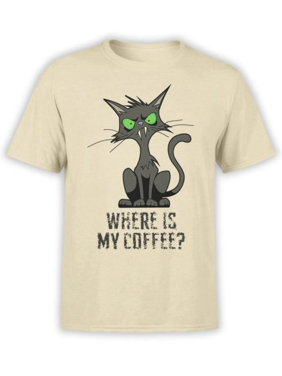 0345 Cat Shirts Coffee Front Natural