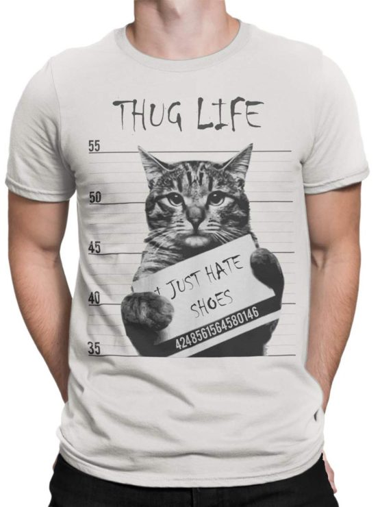 0369 Cat Shirts Thug Life Front Man