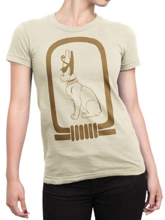 0419 HieroglyphCat Front Woman