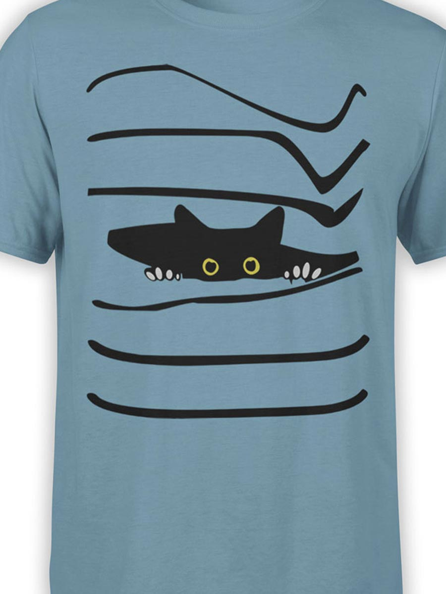 0468 Cat Shirts Spy Front Color