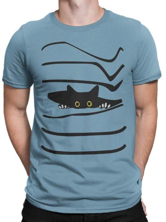 0468 Cat Shirts Spy Front Man