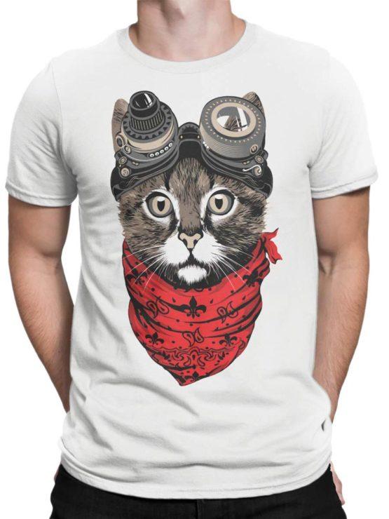 0482 Cat Shirts Engineer Front Man