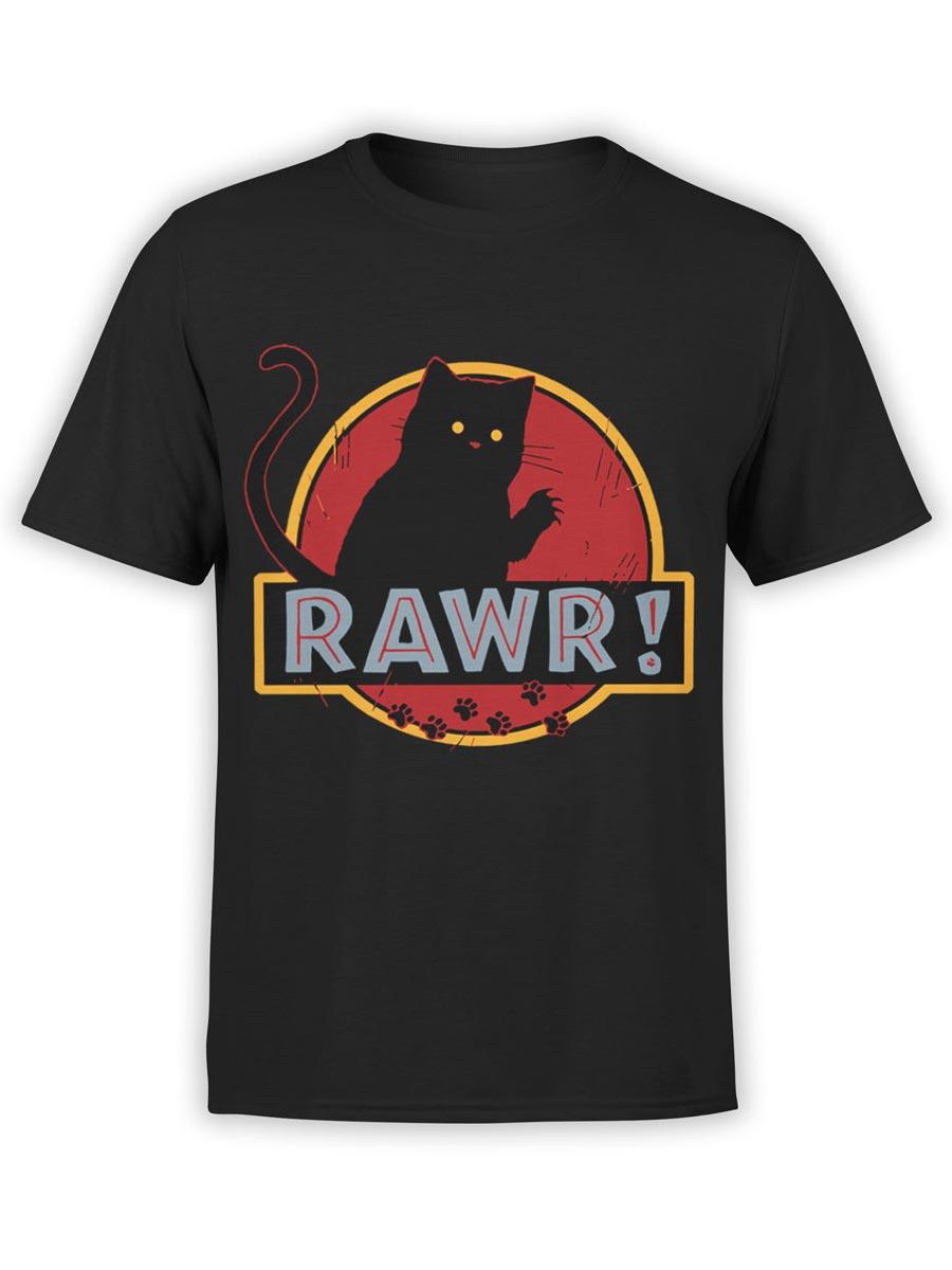 0485 Cat Shirts Rawr Front