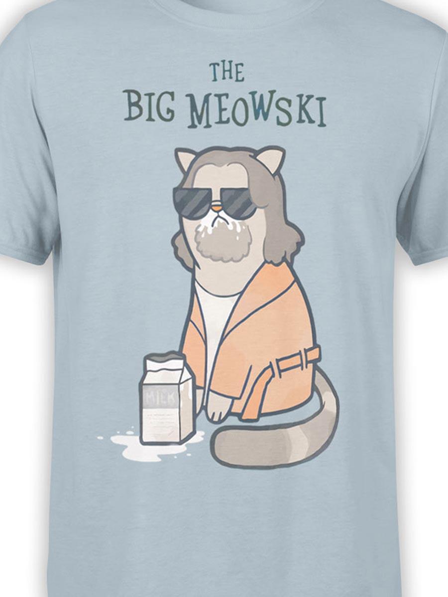 0496 Cat Shirts Meowski Front Color