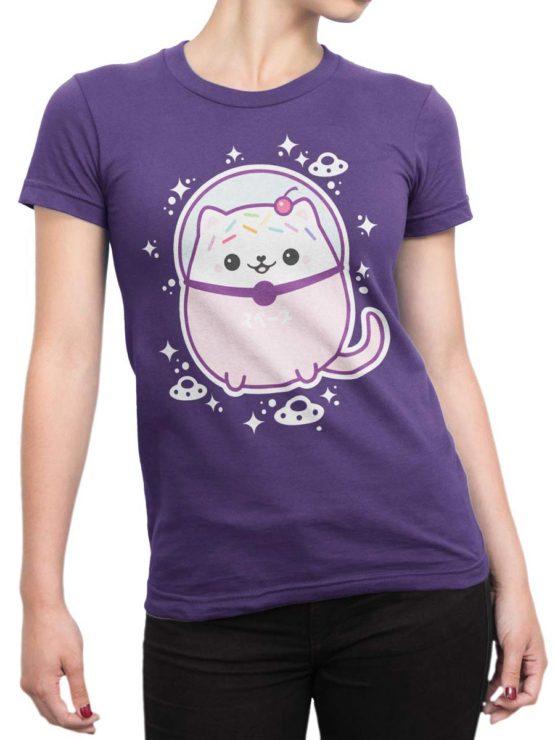 0503 Cat Shirts Sugarhai Cute Front Woman