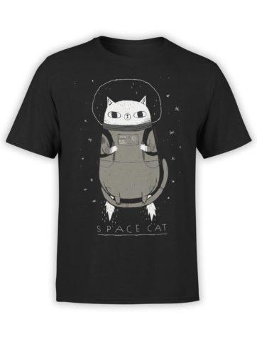 0526 Cat Shirts SpaceCat Front