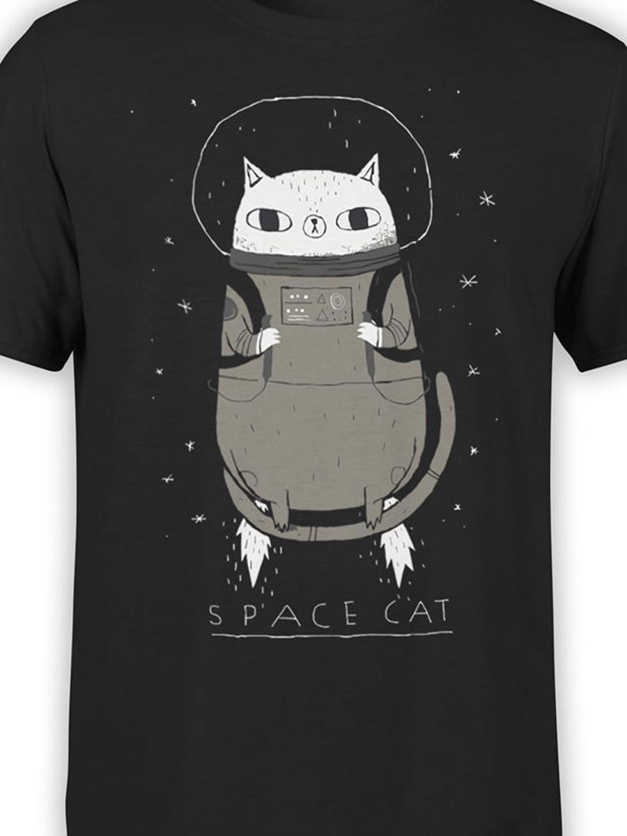 0526 Cat Shirts SpaceCat Front Color