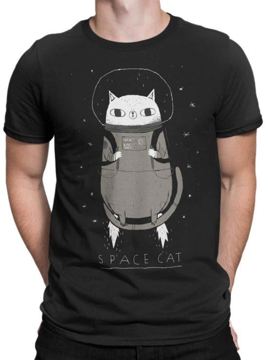 0526 Cat Shirts SpaceCat Front Man