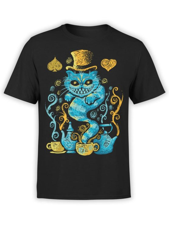 0551 Cat Shirts Mad Front