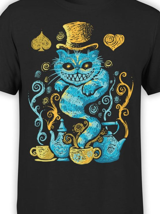 0551 Cat Shirts Mad Front Color