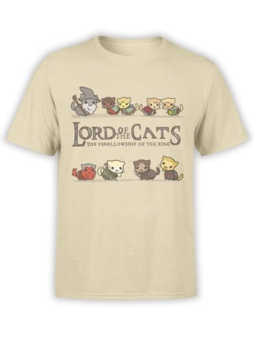 0585 Cat Shirts Lord of the Cats Front