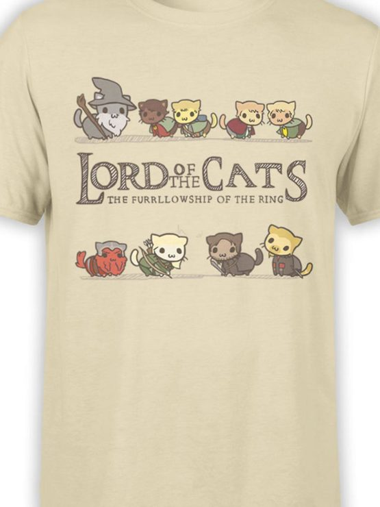 0585 Cat Shirts Lord of the Cats Front Color