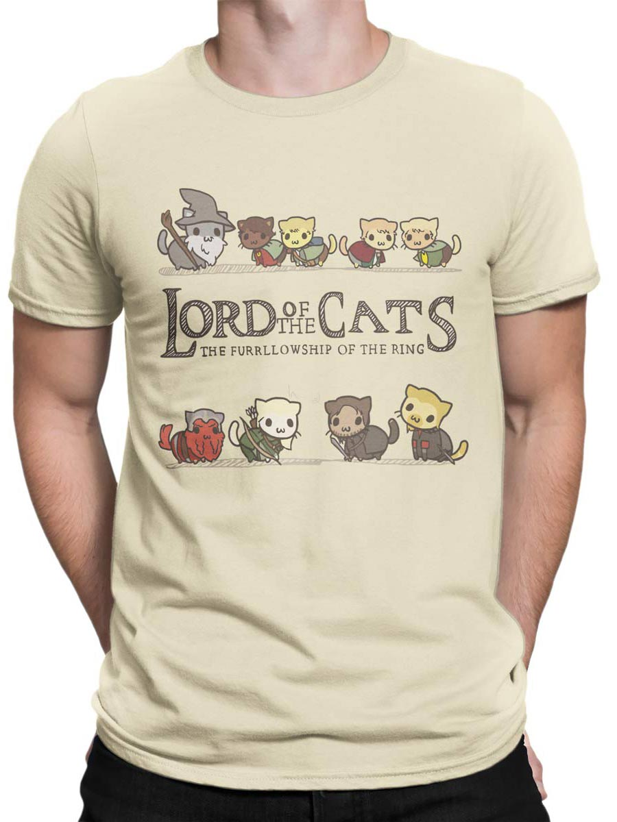 0585 Cat Shirts Lord of the Cats Front Man