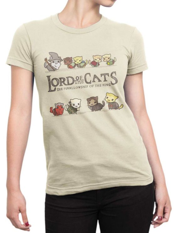 0585 Cat Shirts Lord of the Cats Front Woman