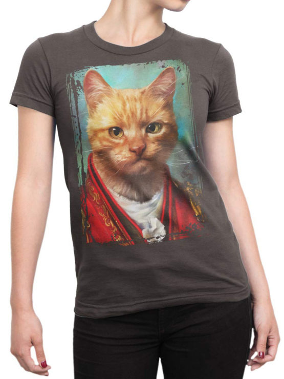 0607 Cat Shirts General Wise Front Woman