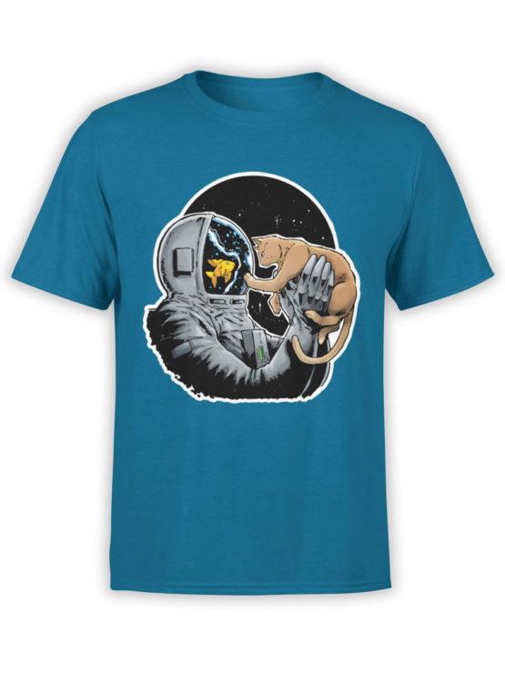 0634 NASA Shirt Fish and Cat Front