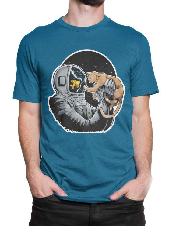 0634 NASA Shirt Fish and Cat Front Man 2