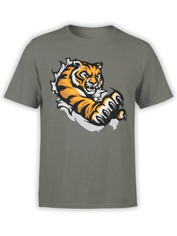 300 Tiger T Shirt Jump Front Army
