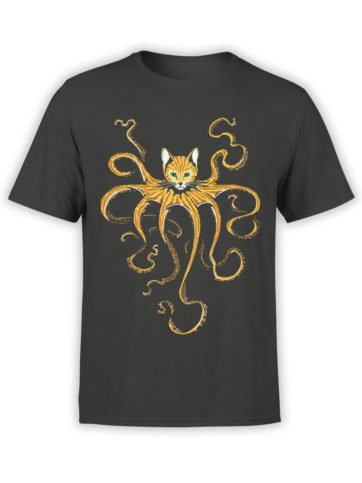 0653 Cat Shirts Octocat Front