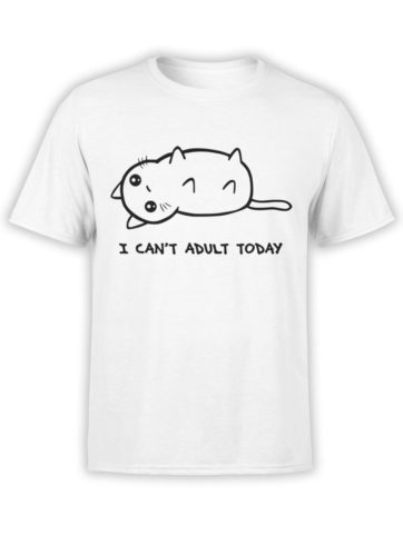0666 Cat Shirts Adult Front