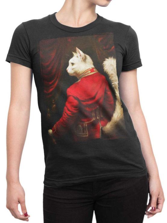 0677 Cat Shirts Sir Front Woman