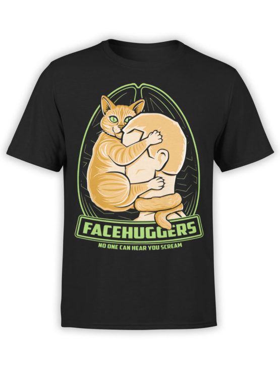 0728 Cat Shirts Scream Front