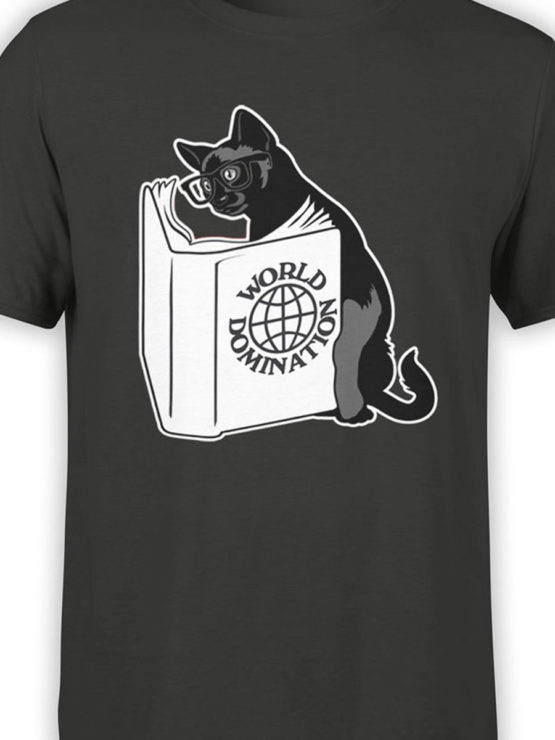 0894 Cat Shirts Domination Front Color