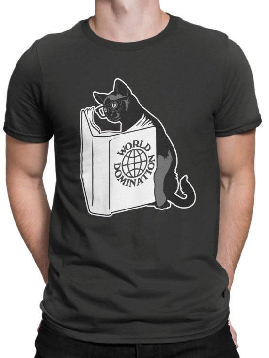 0894 Cat Shirts Domination Front Man
