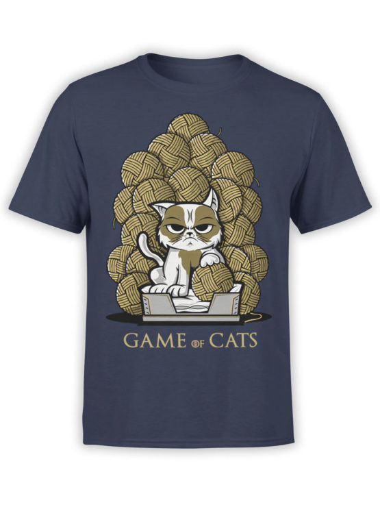 0902 Game of Thrones Shirt Game of Cats Front