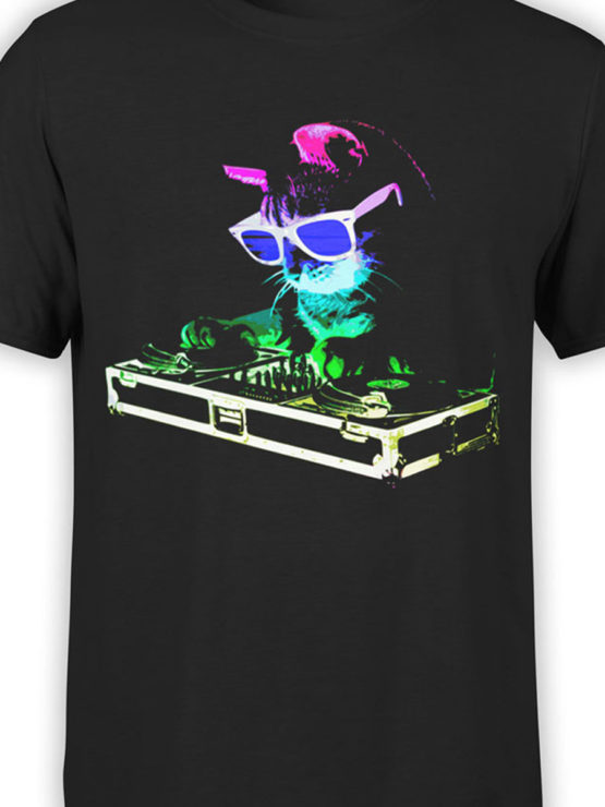 0919 Cat Shirt DJ Catto Front Color