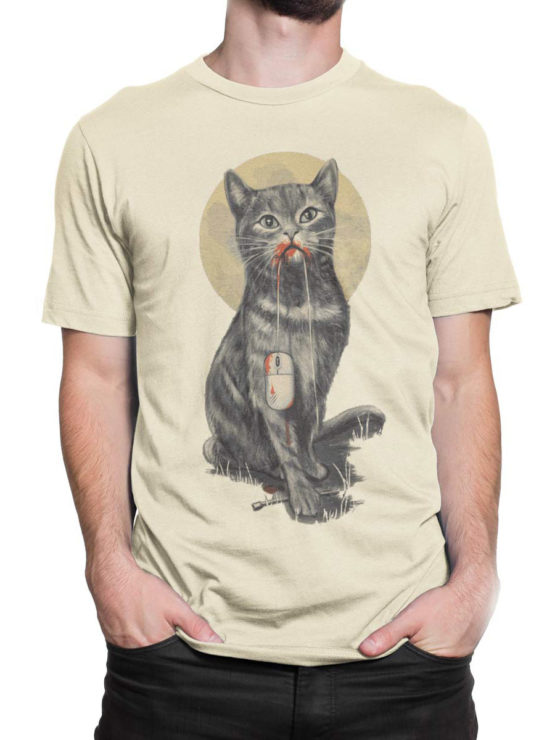0922 Cat T Shirt My Mouse Front Man 2