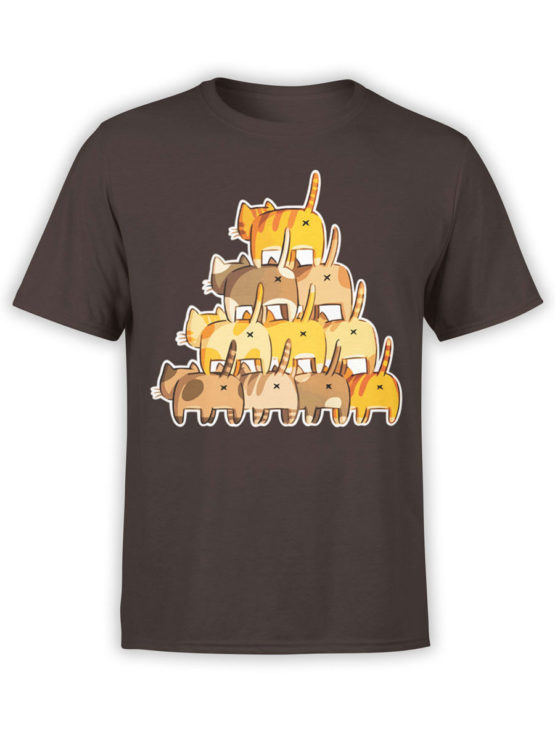 0983 Cat Shirts Butt Pyramid Front